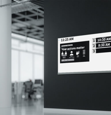 Mock up of FrontDesk Monitor